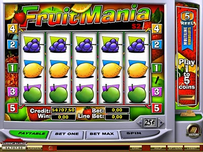 fruit machine online games