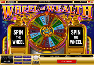 play wheel of fortune slot machine online