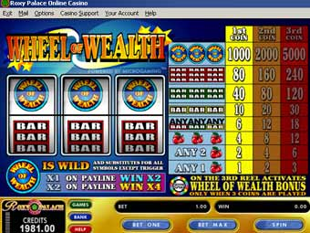 play wheel of fortune slot machine online ocean online games